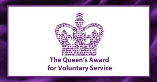 Queens award for voluntary service award for PIRSAC