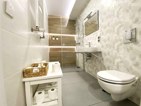 Pensjonat Borek - łazienka