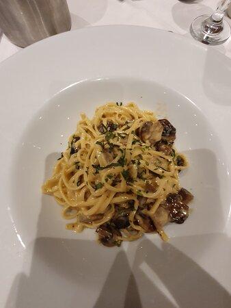Main course pasta dish