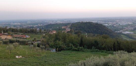 Panorama diurno su Grumello del Monte