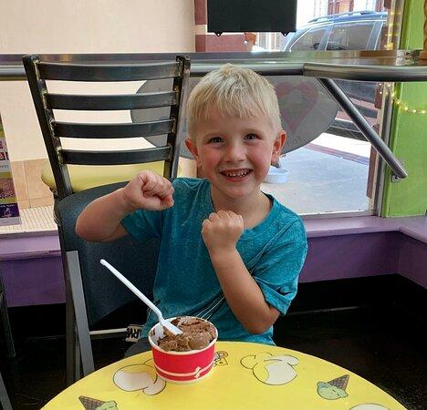 Happy ice cream dance!