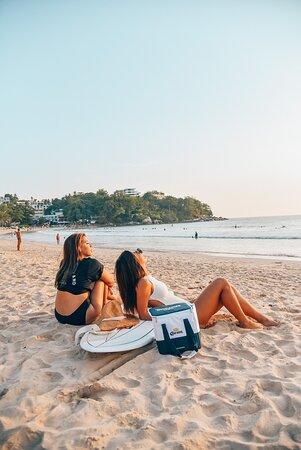Surf Kata Beach Phuket Thailand