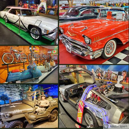 Exhibits at Volo Auto Museum
