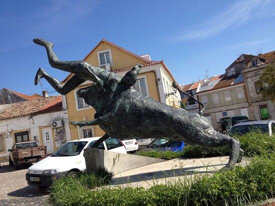 Estatua do Forcado