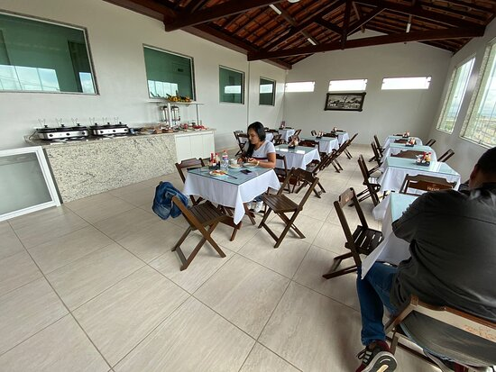 Caruaru, PE: Salão café da manhã