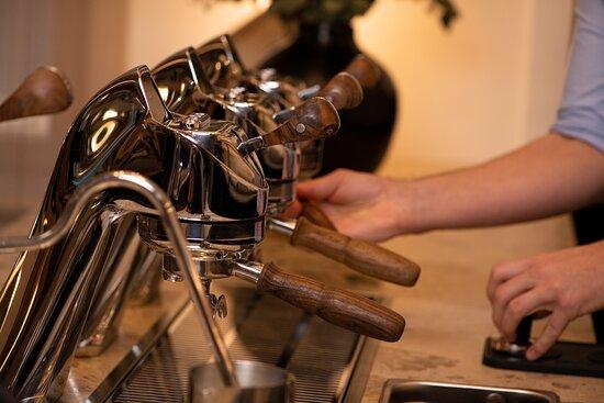 Frisch zubereiteter AFRO COFFEE