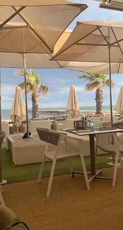 Restaurant en bord de mer, très bon accueil et service, les plat tous plus bons les uns que les autres