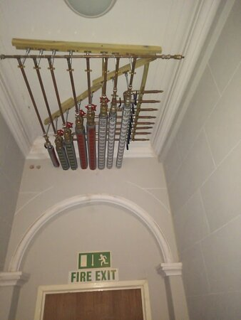 Exposed retrofitted pipework