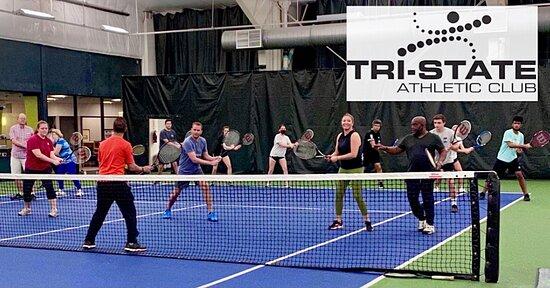 אוונסוויל, אינדיאנה: Learn Tennis Fast// Adult Tennis