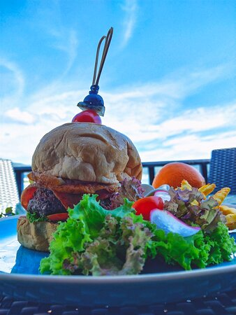 PanYaah Sea View | Cafe restaurant & Bar   Healthy means eating the right food in the right amount. Even our burgers are made out of natural ingredients and are very nutritious. Try it out.😉  Enjoy your day at PanYaah Sea View | Cafe restaurant & Bar.  ⏰ Open daily from : 09.00-22.00 hrs. ☎️ RSVN + 66 76 618 248 / M : +66 80 282 2895 🗺 https://g.co/kgs/JR5ccj  https://panyaahseaviewcafe.business.site/#details