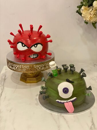 Viruses - they're everywhere! Special YouTube cakes ….stay tuned!