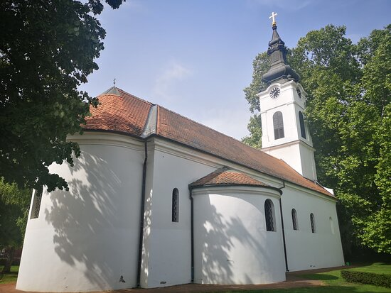 The Lower church from 1718