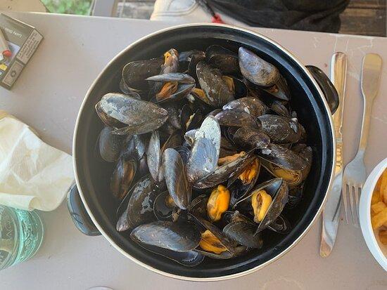 Moules marinière (bouchot)