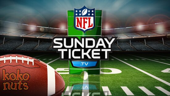 We got all the Nfl season games with sunday ticket