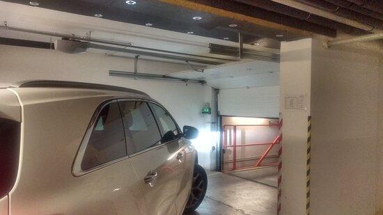 Tiefgarage, auch für SUV