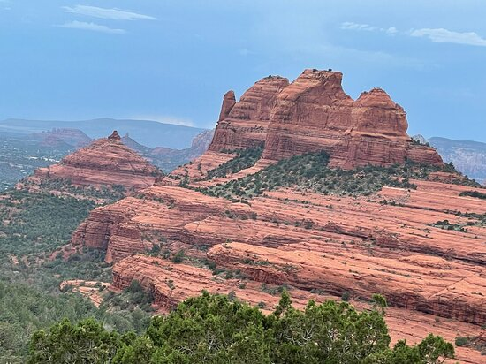 Private Mogollon Rim Jeep Tour from Sedona: Amazing views and rock formations