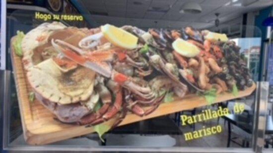Noja, İspanya: PARRILLADA N 1 DE MARISCO