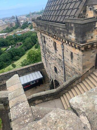 Edinburgh Castle Entrance Ticket Photo