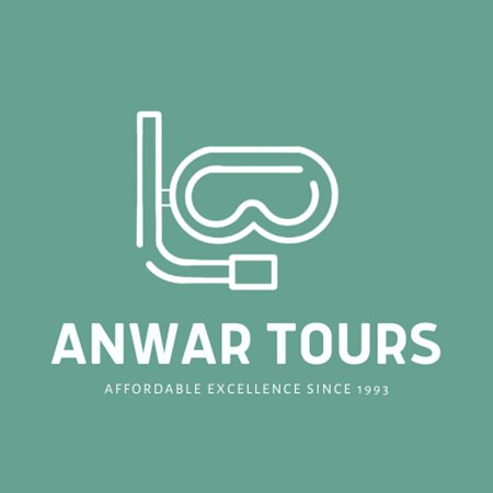 Caye Caulker, เบลีซ: Anwar Tours Logo