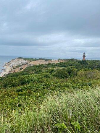 Gay Head Lighthouse in Aquinnah, MA