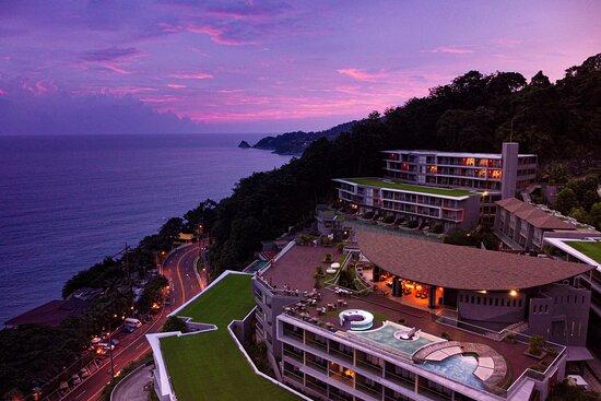 Malika rooftop bar 6th floor at Kalima Resort and Spa, Phuket