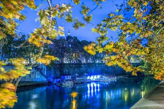River View At Night