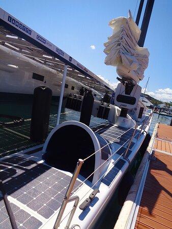 🔷🔶      ENERGY OBSERVER SAIL BOAT 🔷🔶     🔱⚇ PORT MOSELLE Harbor  🔱⚇ ▪▫ Nouméa City 🔹New Caledonia 🔹