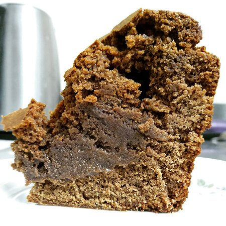 Gâteau au chocolat sans oeufs sans gluten sans lait animal