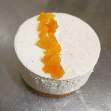 Cheese cake de saison (ici abricot)