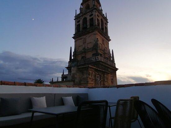 Desde la terraza solárium
