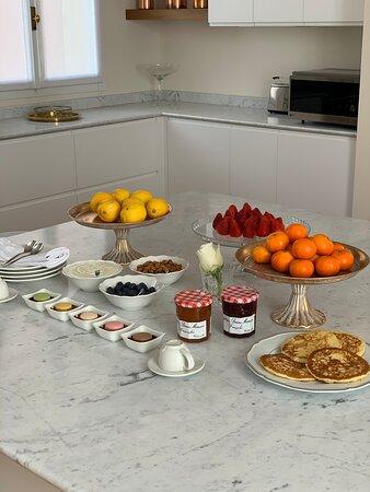 Bolonia, Italia: Breakfast Time