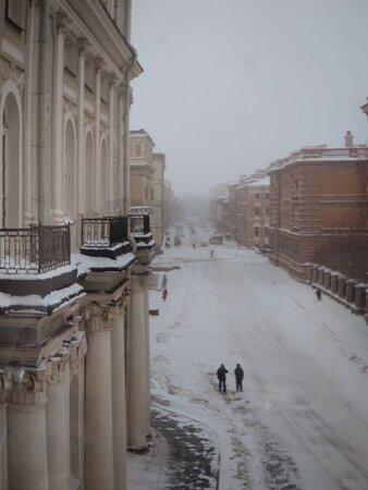 Санкт-Петербург, Россия: Strade di San Pietroburgo :Inverno 1995