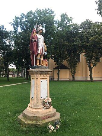 Skulptur St. Florian - Socha Sv. Floriána