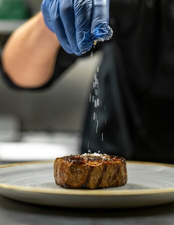 Kitchen at Big Horn Steakhouse