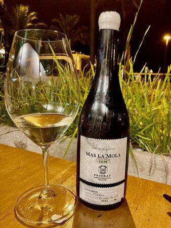 vino blanco Mas la Mola (D.O Priorat)