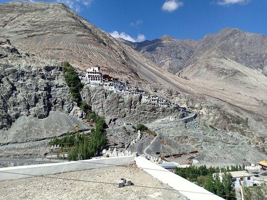 Diskit Monastery & Buddha statue
