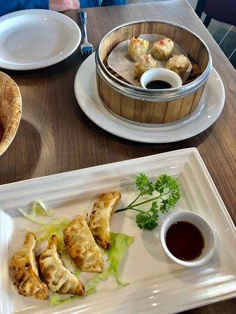 Gyozas and dumplings