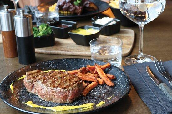 Steak at Big Horn Steakhouse