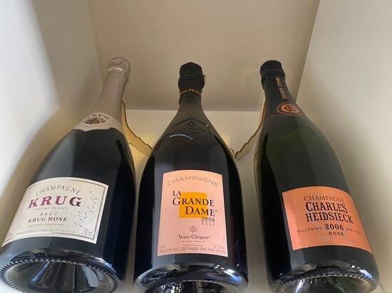 Champaña rosada / rose champagne