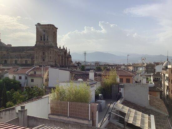 Vista desde la azotea/terraza.