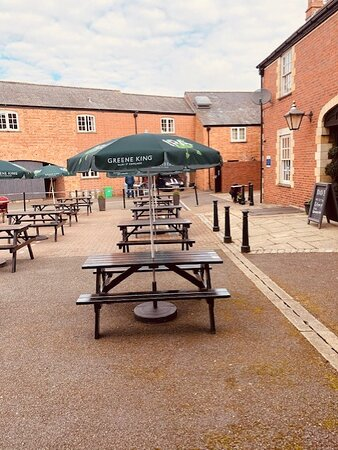 courtyard in the car park