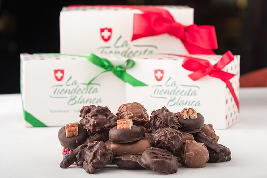 Nuestros clásicos chocolates.