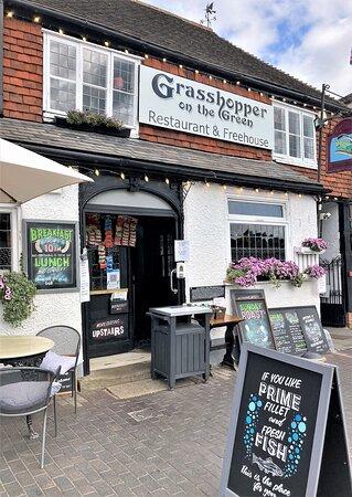 3.  Grasshopper on the Green, Westerham, Kent