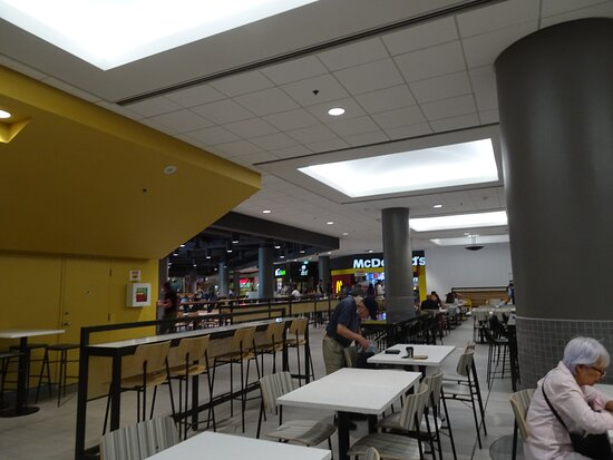 Food Court was clean but could use more businesses