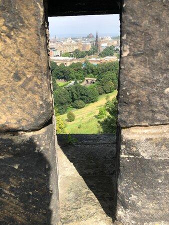 Edinburgh Castle Entrance Ticket: View from the castle