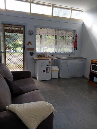 1 bedroom units that sleep 3, plus sofa bed