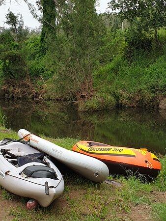 Gradys Creek ,bring your kayak  or floats