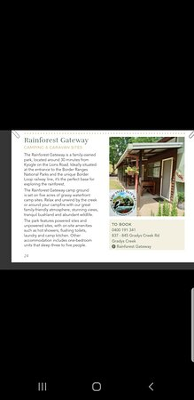 We are in the Kyogle magazine