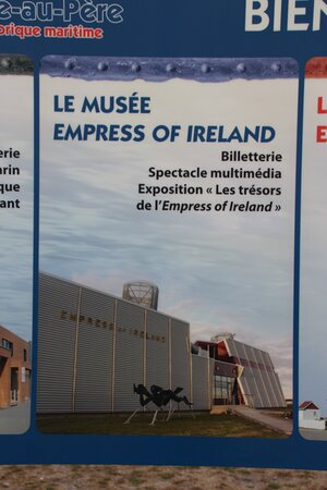 Sign for museum.