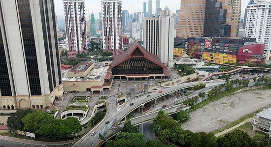 Kuala Lumpur, Malaysia: Drone view